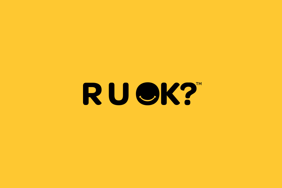 R U OK logo